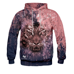BLUZA Z KAPTUREM EYE OF THE TIGER