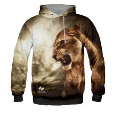 BLUZA Z KAPTUREM QUEEN OF THE JUNGLE