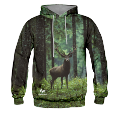 BLUZA Z KAPTUREM FOREST DEER