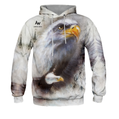 BLUZA Z KAPTUREM EAGLE
