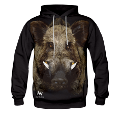 BLUZA Z KAPTUREM MR. BOAR