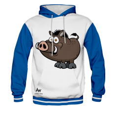 BLUZA Z KAPTUREM CARTOON BOAR