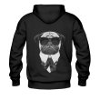 BLUZA Z KAPTUREM DOG IN BLACK