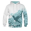 BLUZA Z KAPTUREM HUMMINGBIRD ART