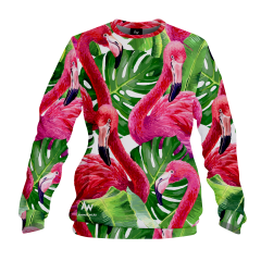 BLUZA FLAMINGO JUNGLE