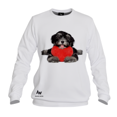 BLUZA Z KAPTUREM PAINTER DOG